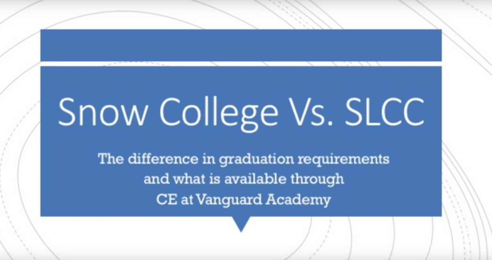 Snow College vs. SLCC